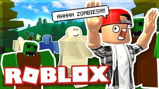 ZOMBIE ATTACK LEVEL 100 THE CRAZY BOSS! - ROBLOX