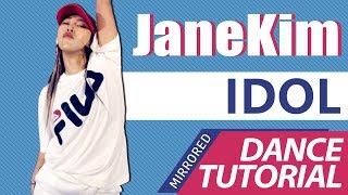 [ Mirrored ] DANCE TUTORIAL : BTS - IDOL