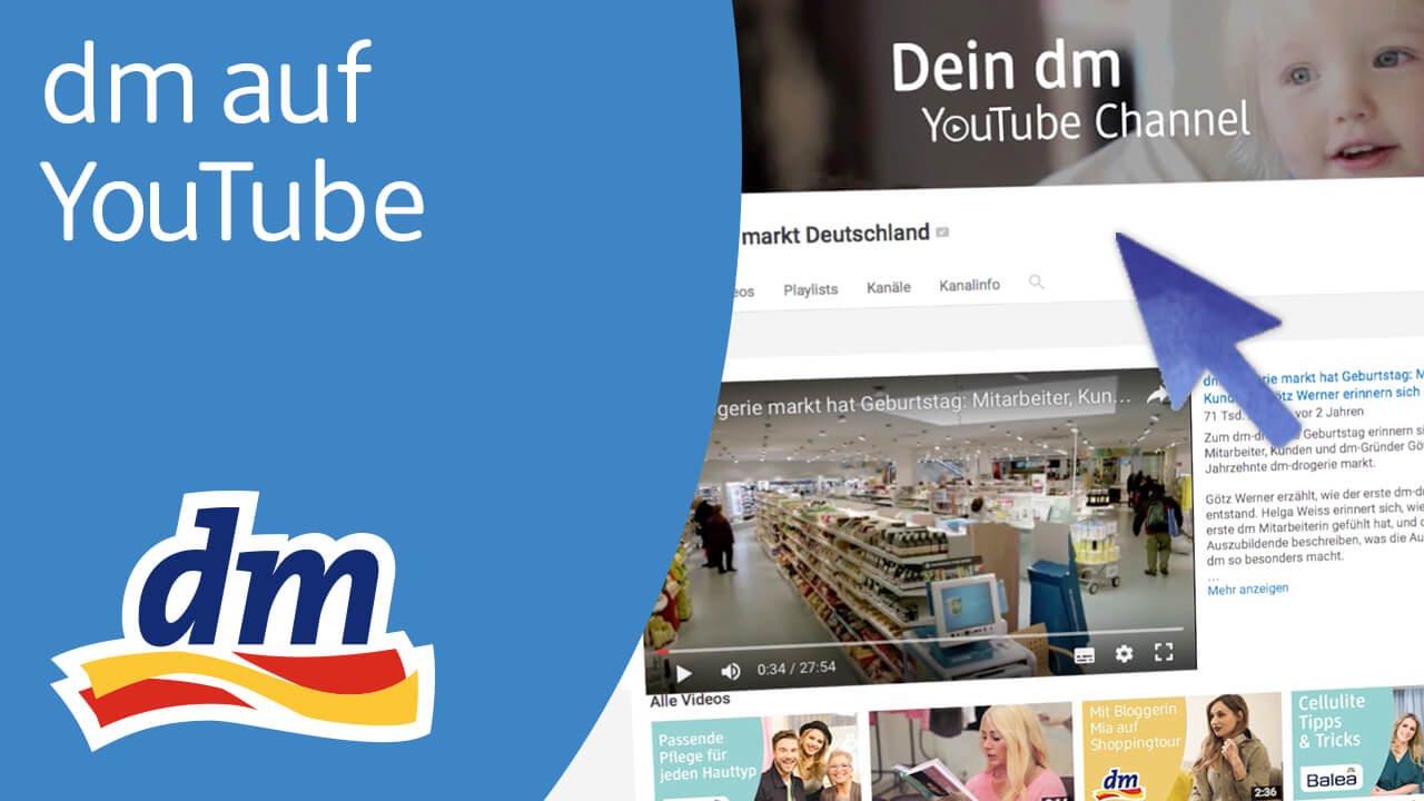 willkommen auf dem youtube kanal von dm youtube