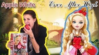 Обзор на Apple White Ever After High (Эппл Вайт Школа долго и счастливо) BBD52 на Русском языке