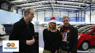 Motorpoint backs the Mission Christmas c aign in Sheffield смотреть