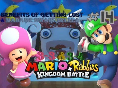 Mario + Rabbids Kingdom Battle Walkthrough #14: Benefits of Getting Lost & Madame Bwahstrella