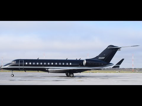 Bombardier Global 5000 Start Up And Departure London Southend