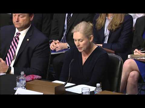 Senator Gillibrand Testifies In Front of Senate HELP Committee on Campus Sexual Assault