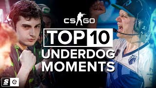 The Top 10 Underdog Moments in CS:GO