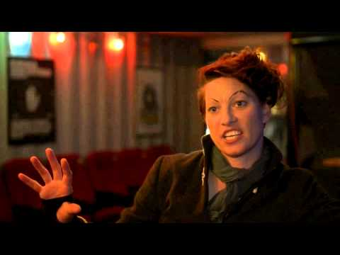 Amanda Palmer - Interview @ Pumpehuset in Copenhagen, DE