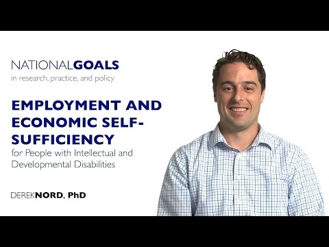 Employment For People With Intellectual And Developmental Disabilities