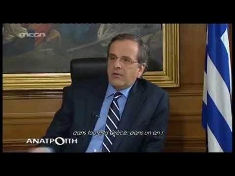 Le PM Antonis Samaras promet le wifi gratuit partout en Grèce pour Novembre 2014