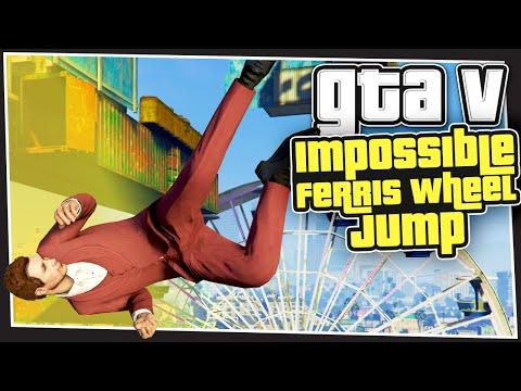 GTA 5 Online - Impossible Ferris Wheel Jump (GTA Custom Games)