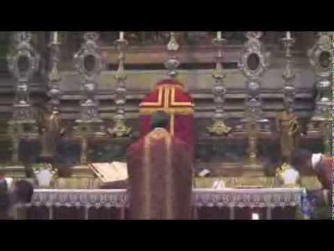 FSSP 25th Anniversary Solemn Mass in Rome