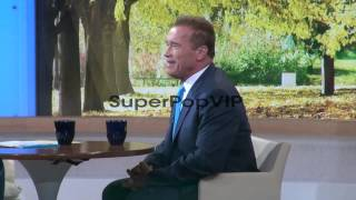 Arnold Schwarzenegger at the