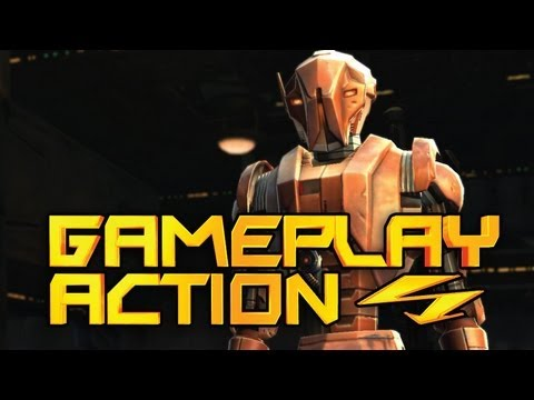 SWTOR High Level Instance (Imperial Agent – Operative) – Gameplay Action