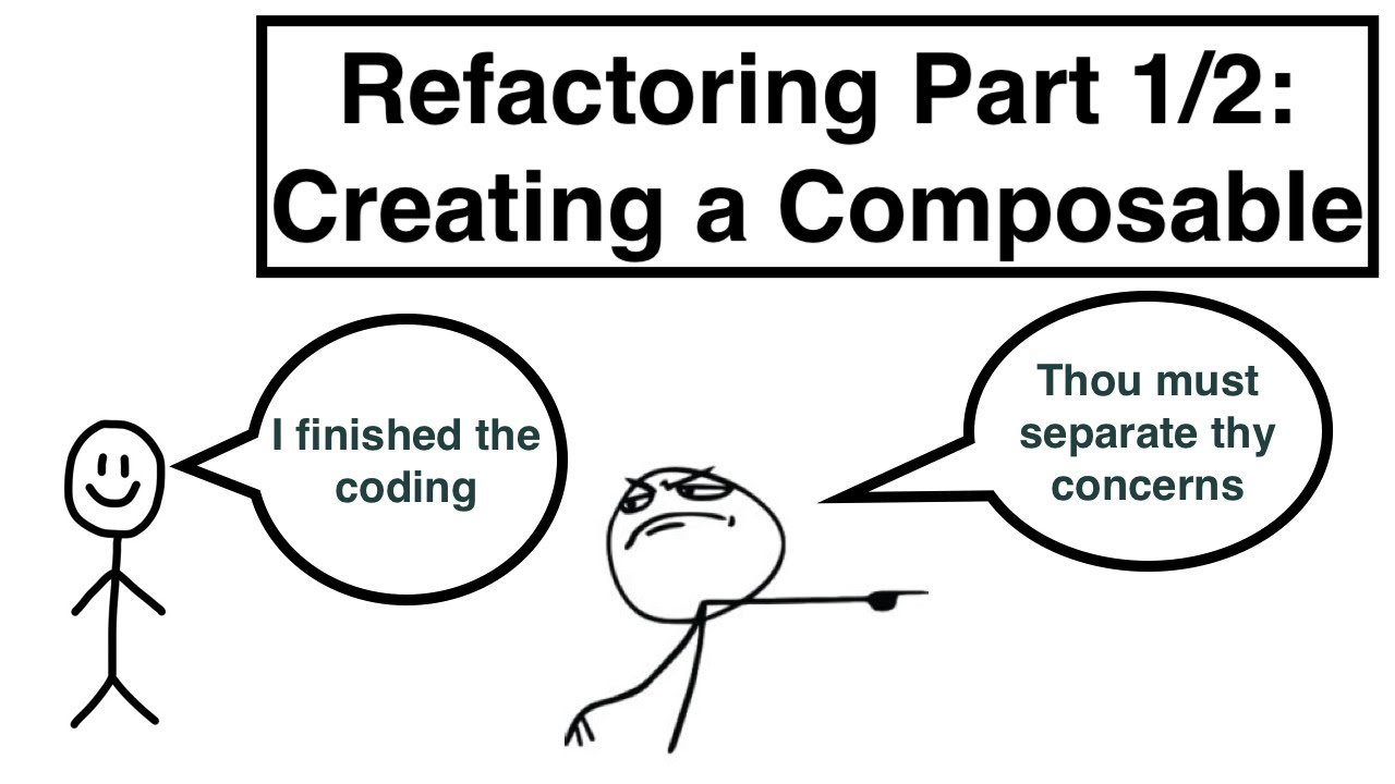 Refactoring an App 1/2: Creating a Composable