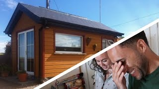 We Try Living In A Tiny House In Ireland! - Ep. 42