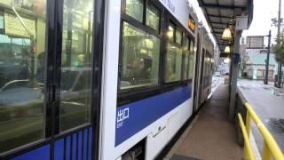 【4K】【小さくても大迫力のVVVFインバーター音】函館市電 9600形電車「らっくる号」