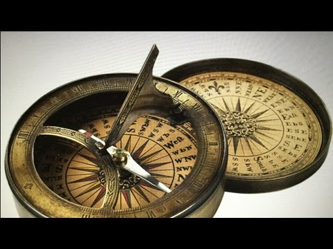 Over 50 rare sundials,solar clocks in history. Jewelry that tells the time FE and more
