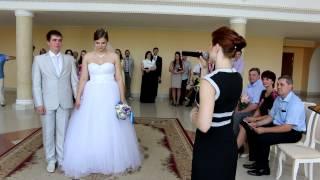 Дворец бракосочетания г.Кострома, 10 июля, регистрация Константина и Ольги.