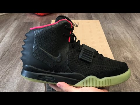 Nike Air Yeezy 2 NRG Solar Red Detailed Review (Kanye West Yeezy Boost)