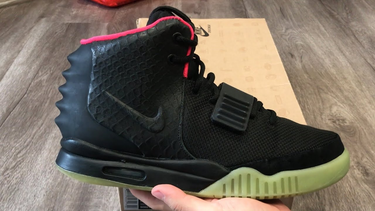 sports shoes 10634 da8ec Nike Air Yeezy 2 NRG Solar Red Detailed Review (Kanye West Yeezy Boost)