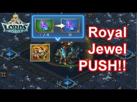 Pushing Royal Jewel  - 王國紀元 Lords Mobile