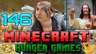 Minecraft: Hunger Games w/Mitch! Game 146 - Jesus Was a Boob Man!