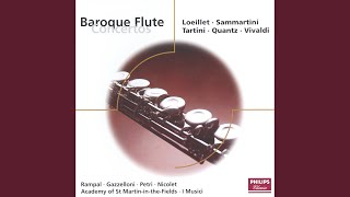 Loeillet: Concerto pour flûte et orchestre en ré majeur - 1. Allegro