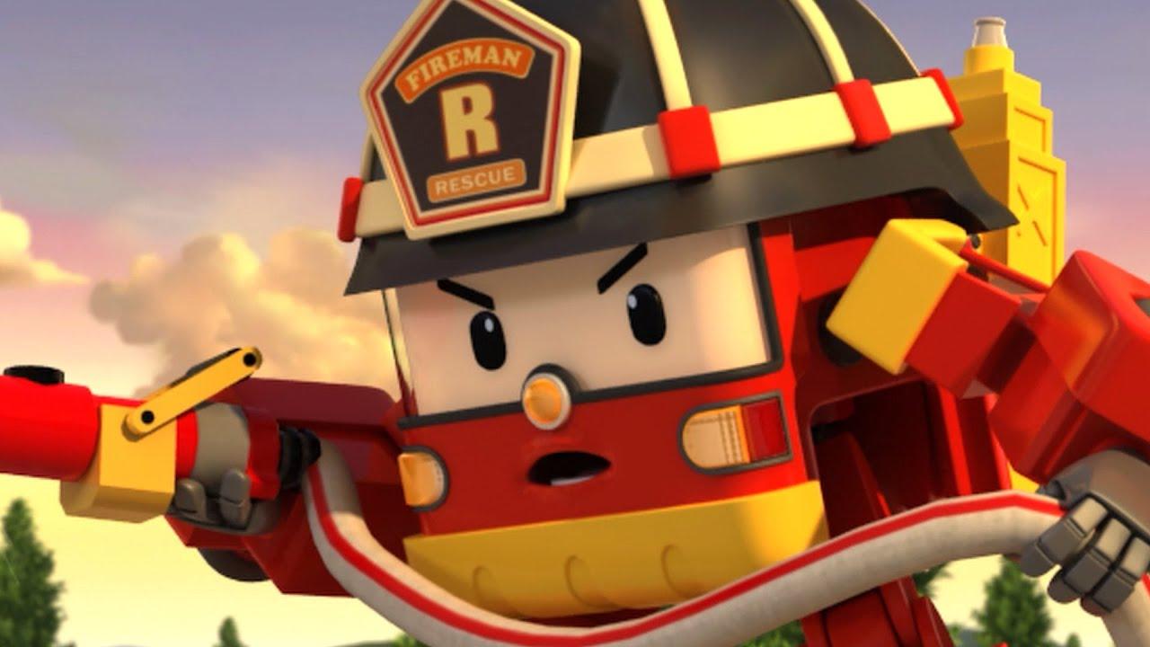 Votre nez est rouge! | Animation pour les enfants | Robocar POLI Français