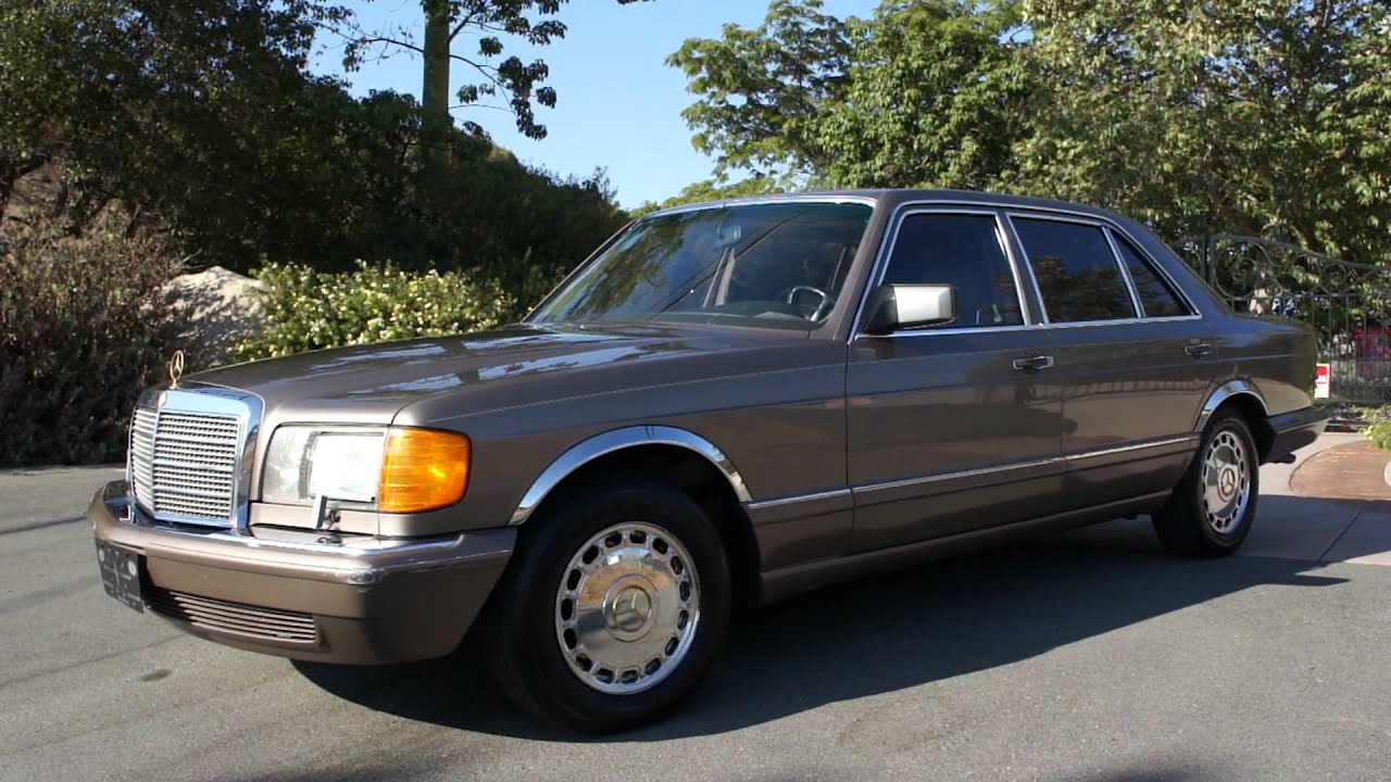 W126 Mercedes Benz 420sel 1 Owner Clean S Class 560sel