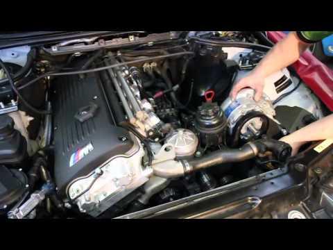 BMW M3 Supercharger Kit Installation