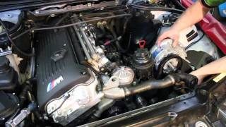 BMW M3 Supercharger Kit Installation