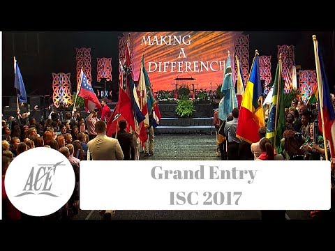 Grand Entry ISC 2017