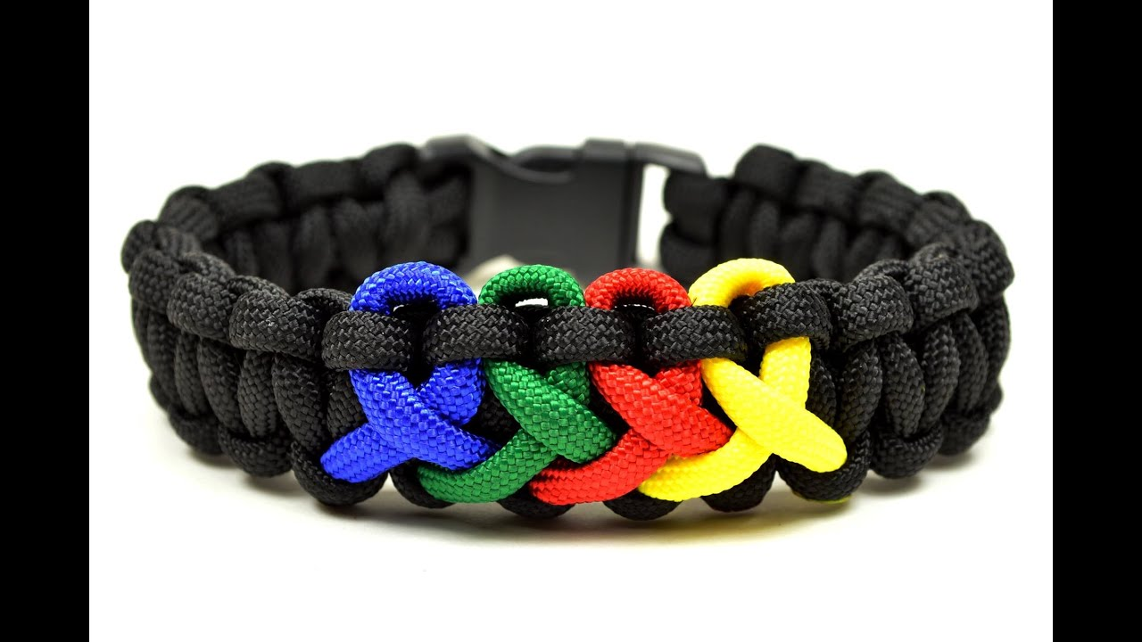 Make An Autism Awareness Paracord Bracelet