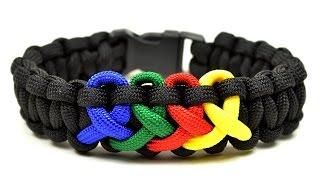 Make an Autism Awareness Paracord Bracelet