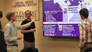 Clemson SMLC help students from Ukraine gauge talk about protests