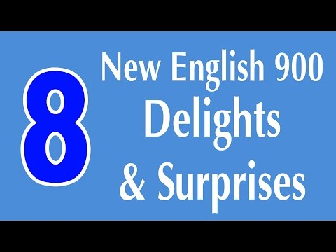 learning-english-speaking-course---new-english-lesson-8---delights-and-surprises