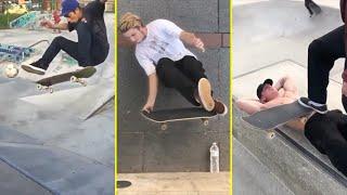 Skateboarding Tricks You've Never Seen Before! (Skaters vs Tricks)