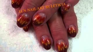 LCN NAIL ART BY LETICIA