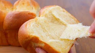 버터향 가득 결이 살아있는 버터톱 식빵 레시피 ⎮ 손반…