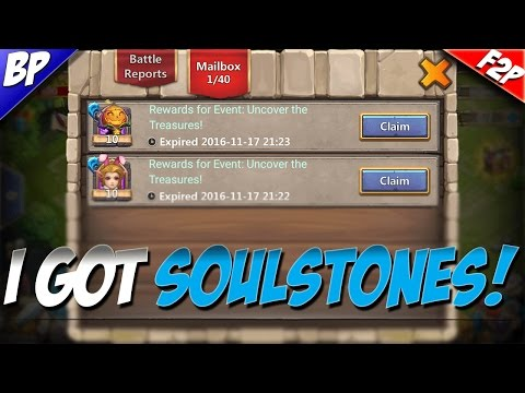 Castle Clash F2P PART 2! (I GOT SOULSTONES)