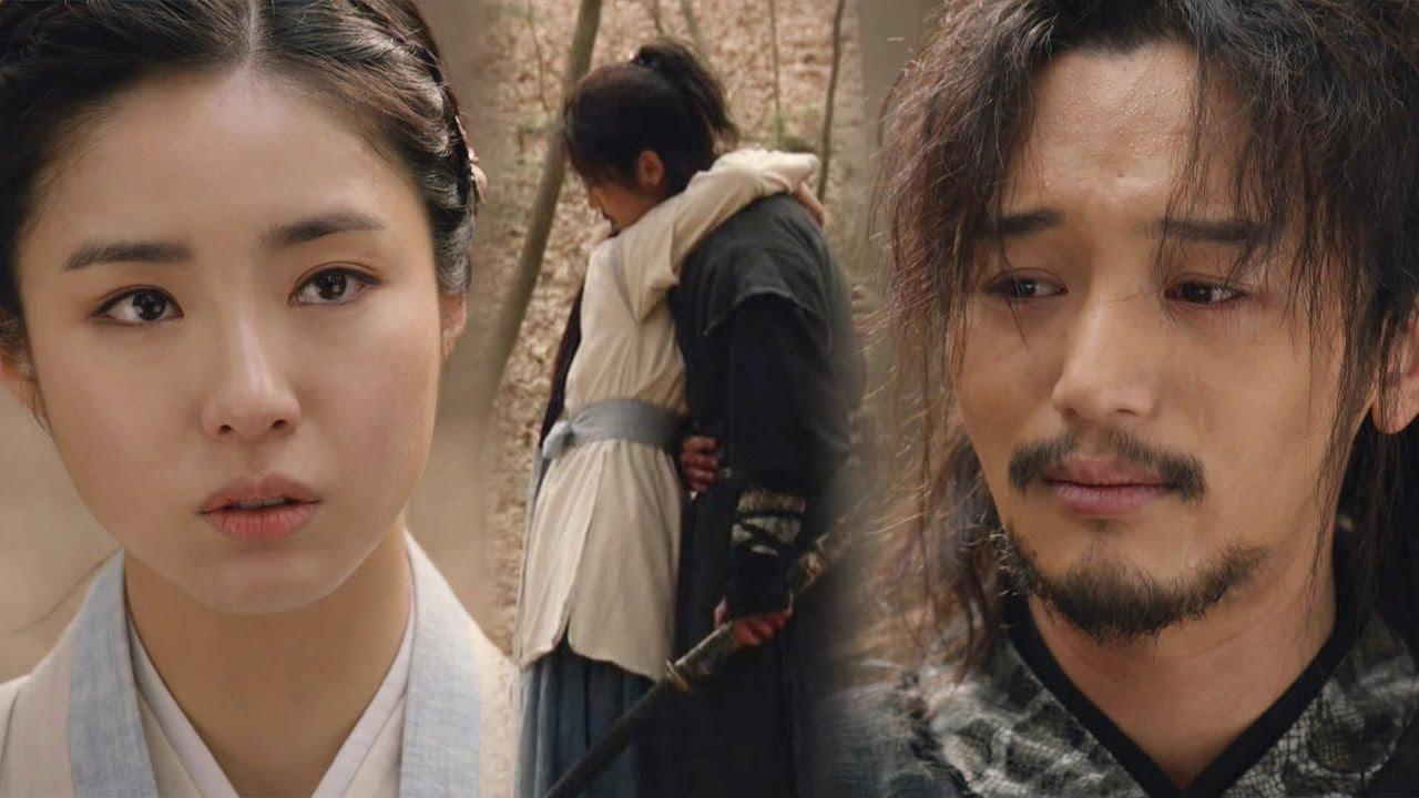 Download Byun Yo Han & Shin Sae Kyung, a parting hug 《Six Flying Dragons》 육룡이 나르샤 EP50
