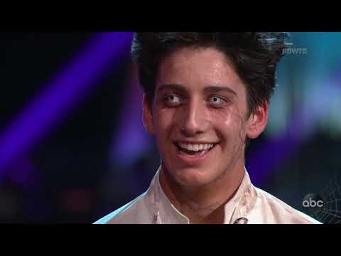 "HD Milo Manheim and Witney ""Contemporary"" - DWTS Week 6: Halloween Night 