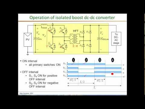 Basic principles of isolated boost dc dc part 1