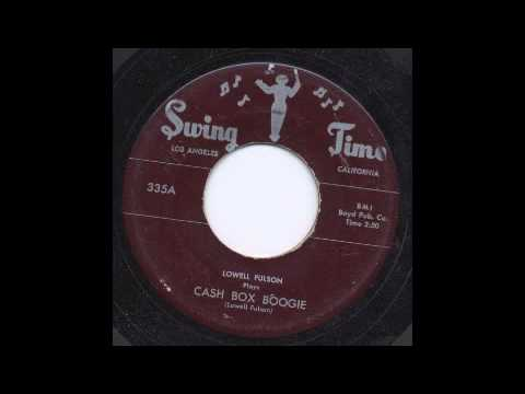 LOWELL FULSON - CASH BOX BOOGIE - SWING TIME