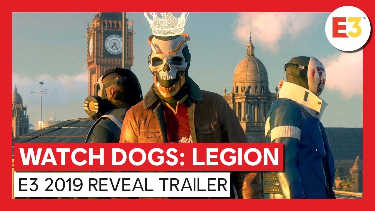 Watch Dogs Legion The Resistant Of London Figurine Reveal Trailer Youtube
