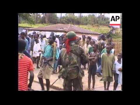 WEST AFRICA: GROWING SENSE OF TENSION IN WAR TORN LIBERIA