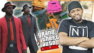 THE BEST TAG TEAM CAR GAME MODE IN THE GAME! - GTA Online Race Gameplay