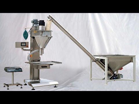 powder auger filling machine instruction from A to Z Comment faire fonctionner une charge de poudre