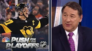 Penguins hitting their stride, Sharks look dangerous | NHL Push for the Playoffs Ep. 2 | NBC Sports