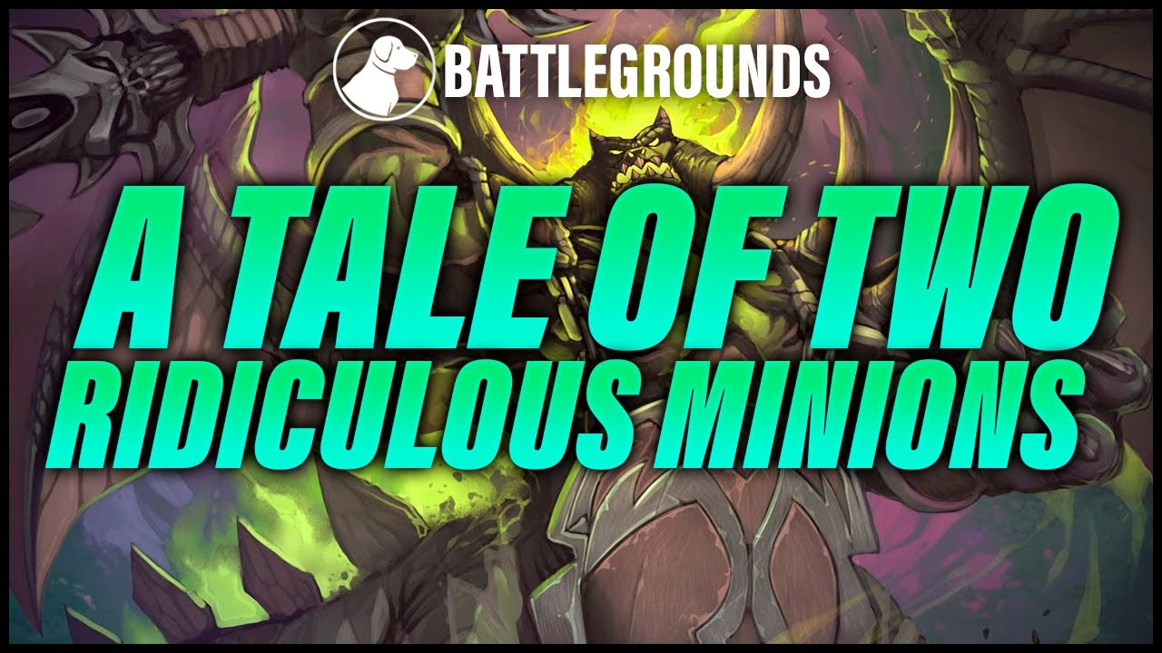A Tale of Two Ridiculous Minions | Dogdog Hearthstone Battlegrounds