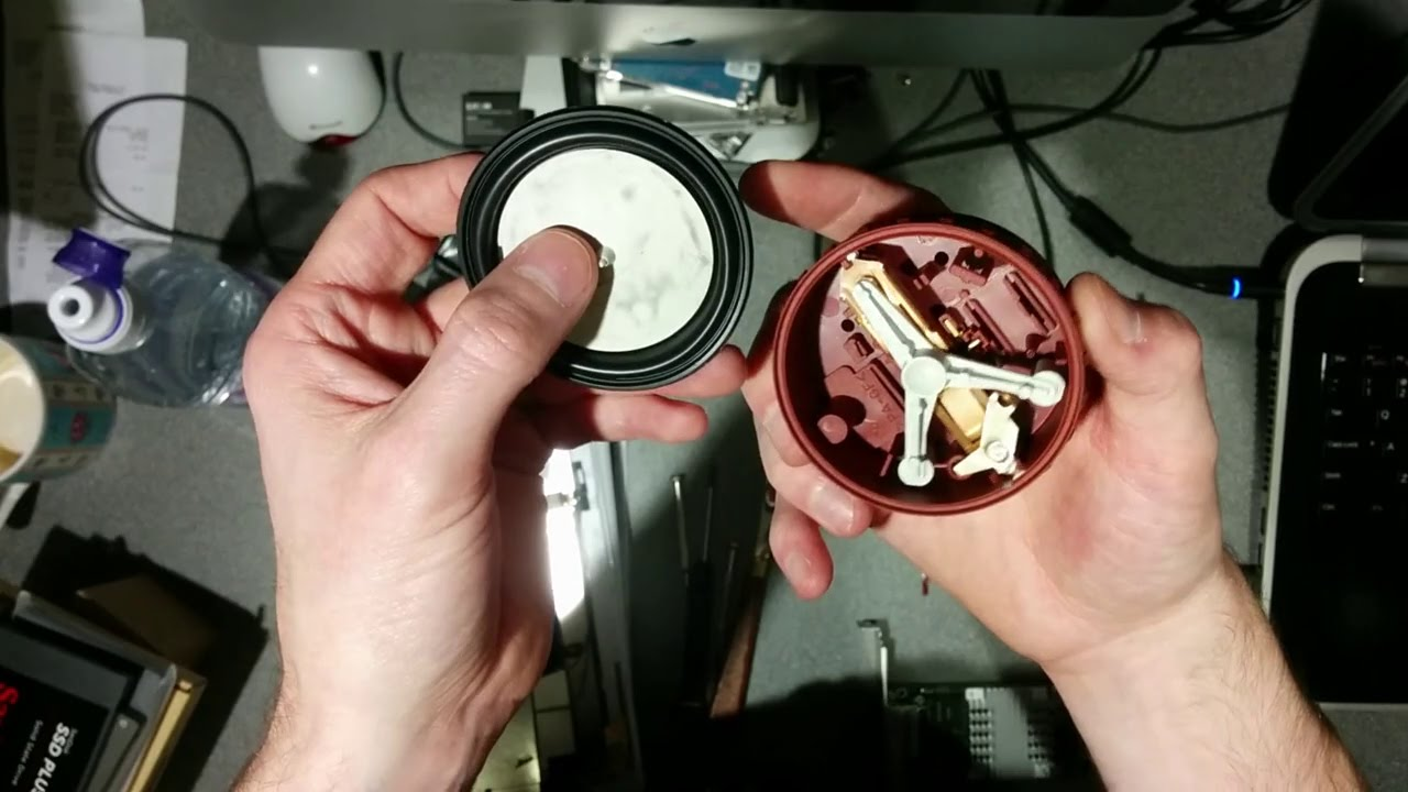 small resolution of inside a washing machine water level regulator pressostat pressure switch youtube